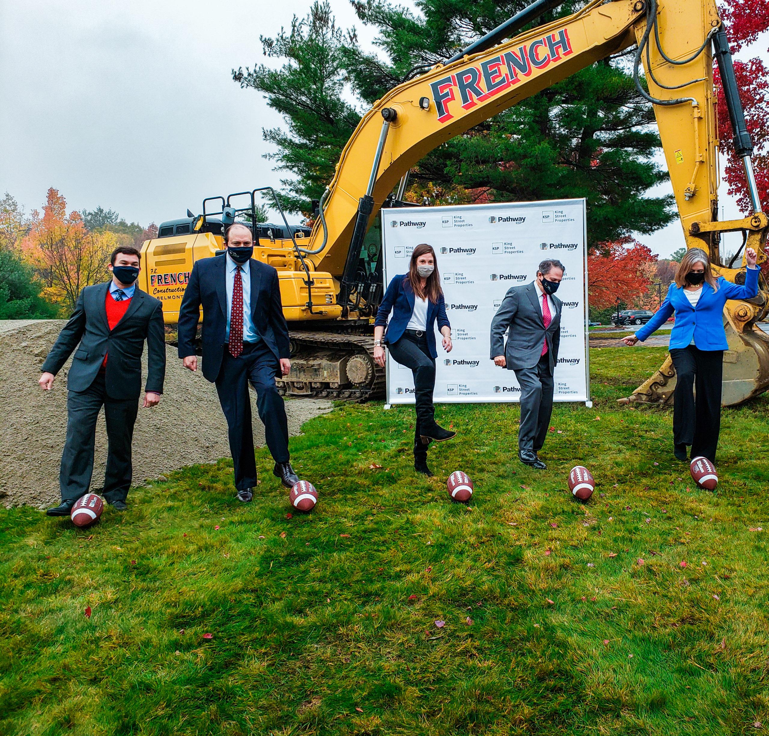 The Devens Delegation kicks off development at King Street Properties' new biomanufacturing campus in Devens, MA